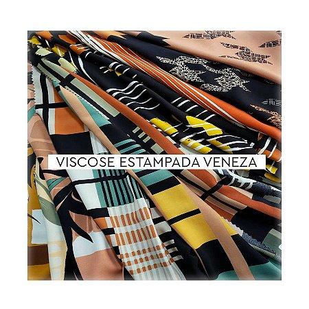Viscose Estampada Veneza IV