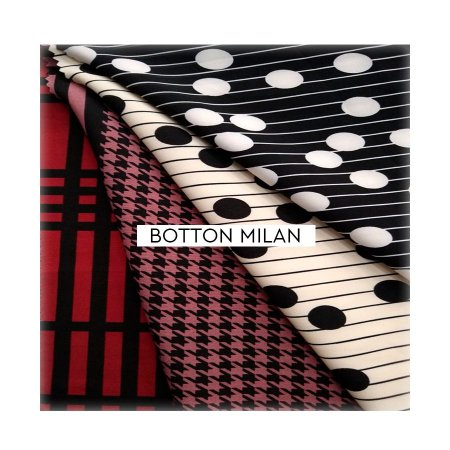 Botton Milan Crepe