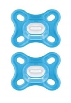 Chupeta Comfort 0-2M - Azul - 2 un - MAM