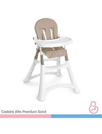 Cadeira Alta Premium Refeição - Sand - Galzerano