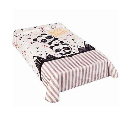 Cobertor Hipoalérgico Le Petit - Panda - Colibri