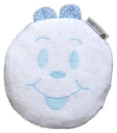 Bolsa Térmica de Sementes - Branco com Azul - Cuca Criativa