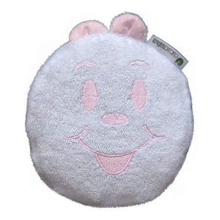 Bolsa Térmica de Sementes - Branco com Rosa - Cuca Criativa