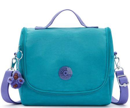 Lancheira New Kichirou KH01 Fresh Turquoise -  Azul - Kipling
