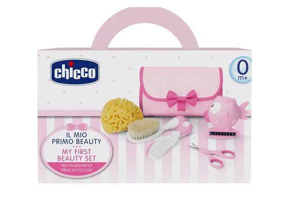Kit de Higiêne e Beleza 5 em 1 - My First Beauty Set - Rosa - Chicco