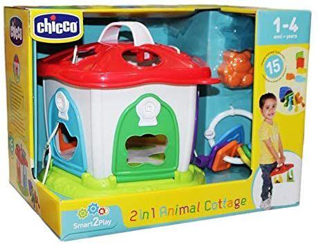 Casa Dos Bichos 2 Em 1 (12M+) Smart2Play - Chicco
