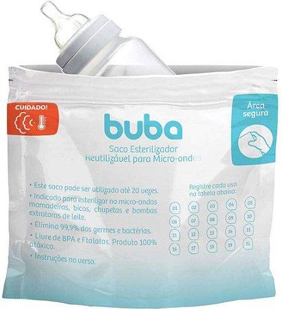 Saco Esterilizador Reutilizável para Micro-ondas - Buba