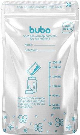 Saco Para Armazenar Leite Materno - 25 sacos - Buba