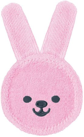 Luva de Cuidado Oral +0M - Rabbit Rosa - MAM