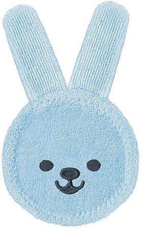Luva de Cuidado Oral +0M - Rabbit Azul - MAM