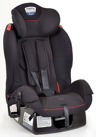 Cadeira para Auto Matrix Evolution K - 0 a 25kg - Dot Vermelho - Burigotto