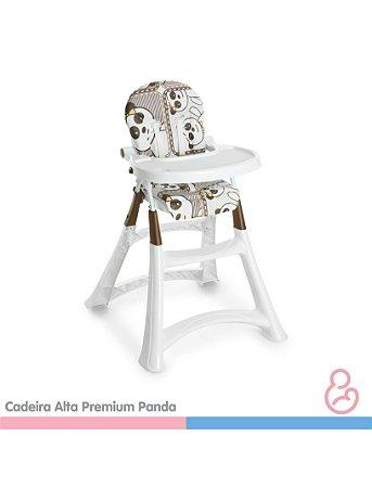 Cadeira Alta Premium Refeição - Panda - Galzerano