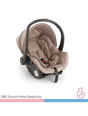 Cadeira Para Auto Cocoon - Preto/Cappuccino - Galzerano