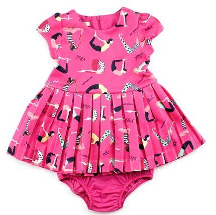 Vestido com Calcinha e Zíper Invisível - Rosa - 1+1