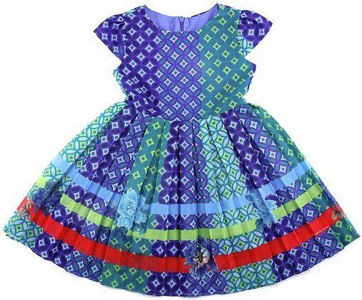Vestido com Calcinha e Zíper Invisível - Royal - 1+1