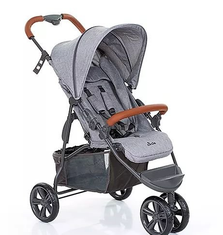 Carrinho Moving Light - Woven Grey - Bebaby