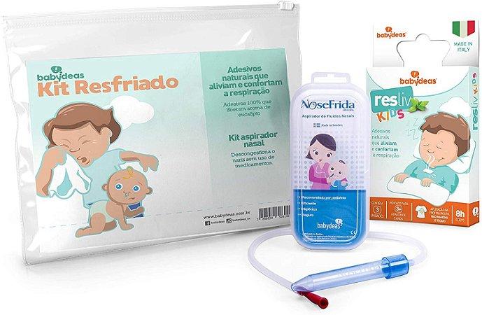 Kit Resfriado Nosefrida e Resliv - Babydeas