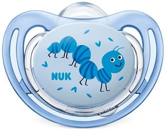 Chupeta Freestyle +18m - Azul - Nuk