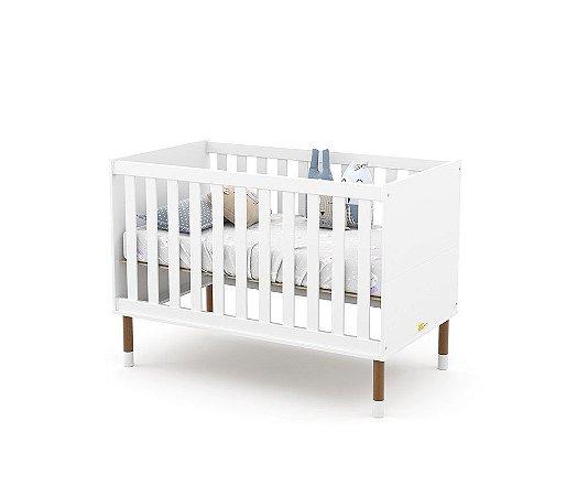 Berço Up Eco Wood - Branco Soft - Matic