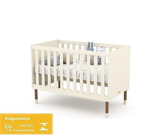 Berço Up Eco Wood - Off White - Matic