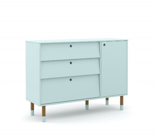 Cômoda Up Eco Wood - Menta - Matic