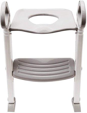 Assento Redutor com Escada - Cinza - Buba