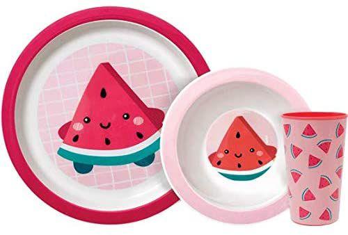 Kit Refeição Frutti - Melancia - Buba