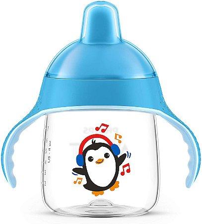 Copo Pinguim 260Ml - Azul - Philips Avent