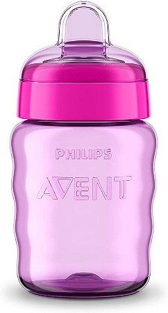 Copo Bico de Silicone - Lilás - Philips Avent