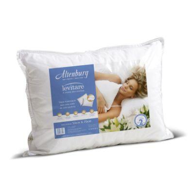 Travesseiro Levitare 50 x 70 cm - Branco - Altenburg