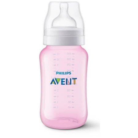 Mamadeira Anti-Colic 330ml +3m - Rosa - Philips Avent