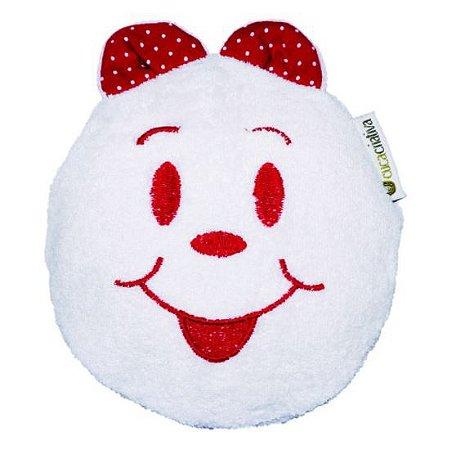 Bolsa Térmica de Sementes - Branco com Vermelho - Cuca Criativa