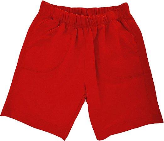 Short Masculino - Vermelho - Hering Kids