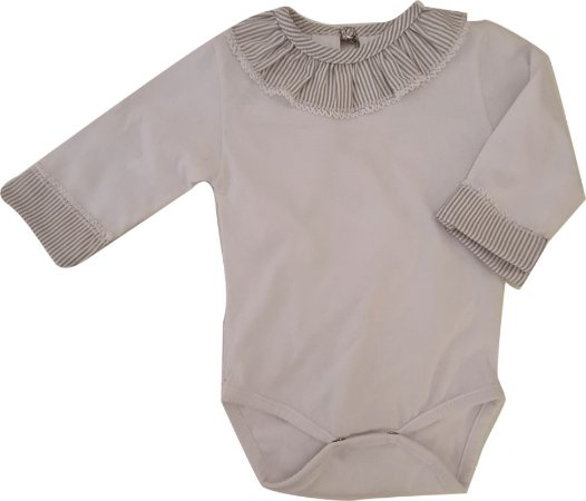 Body Infantil - Branco - Kidstar