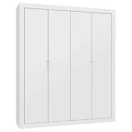 Guarda Roupa Tutto New 4 Portas - Branco Soft - Matic