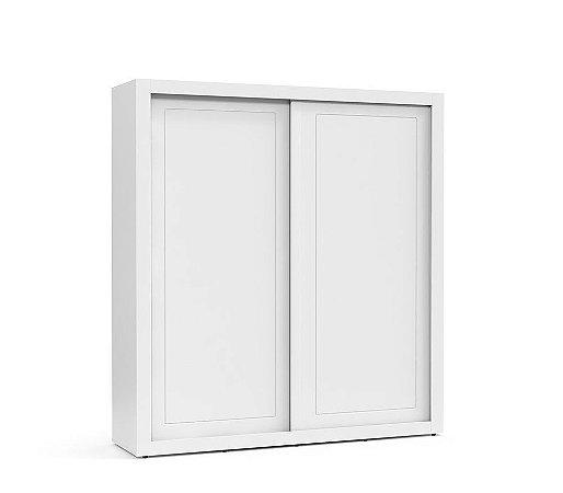 Guarda Roupa Tutto New 2 Portas de Correr - Branco Soft - Matic