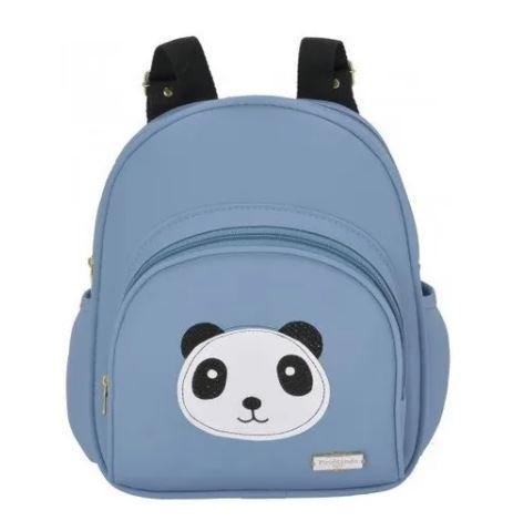Mochila Panda - Azul - Pirulitando