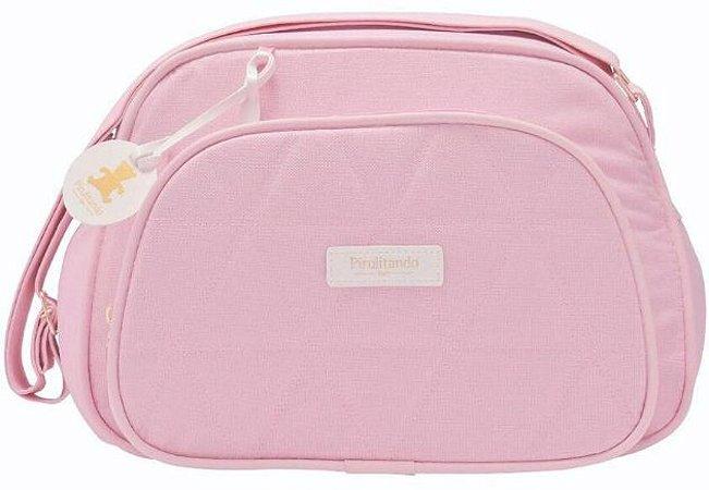 Bolsa Pequena Conforto - Rosa - Pirulitando