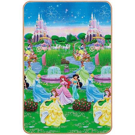 Tapete Disney Trip Princesas 120 x 180 cm - Jolitex