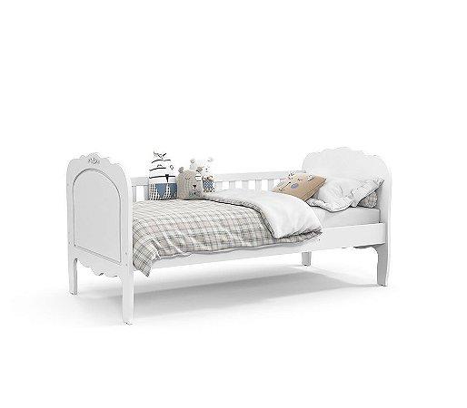 Cama Babá Provence - Branco Soft - Matic