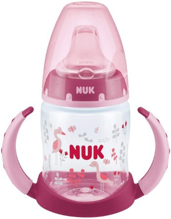 Copo de Treinamento First Choice 150 ml com Alça +6m - Rosa - Nuk