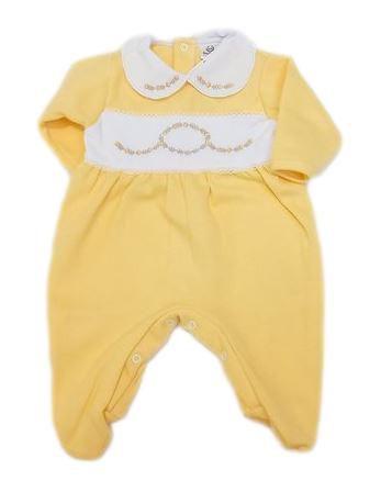 Macacão Infantil Feminino - Amarelo - Doce Melado