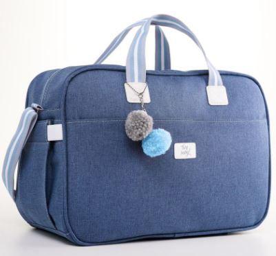 Bolsa Maternidade Color - Azul - Just Baby