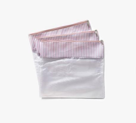Conjunto 3 Saquinhos Bubbles - Rosa - Masterbag