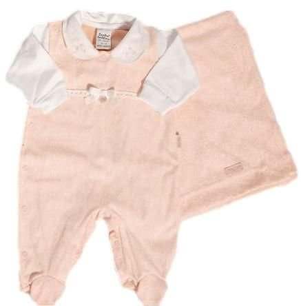 Saída Maternidade Feminina - Branco/Rosa - Sonho Mágico
