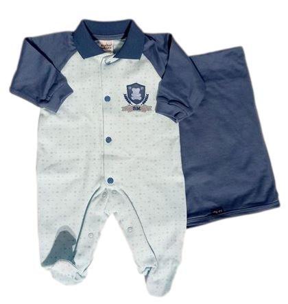 Saída Maternidade Masculina - Azul - Sonho Mágico