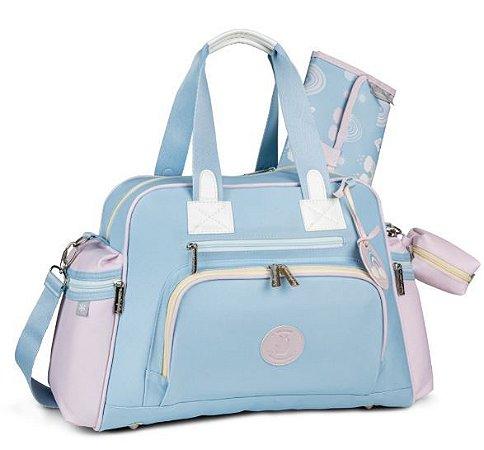 Bolsa Térmica Everyday Colors - Azul/Rosa - Masterbag