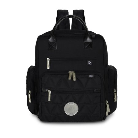 Mochila Urban Nylon Glow - Preto - Masterbag