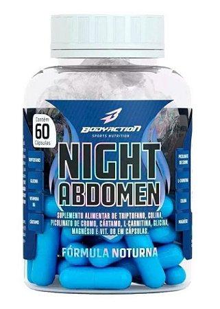 Night Abdomen 60 cápsulas Bodyaction