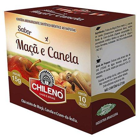 Chá de Maça com Canela 10 sachês Chileno